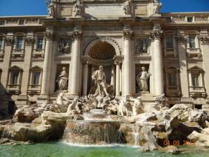 Fontana di Trevi Luna de Miere Roma