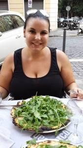 Pizza luna de miere Roma