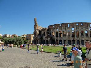 Colosseum luna de miere Roma