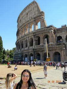 luna de miere Roma Colosseum