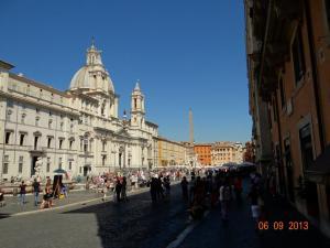 Piazza Navona luna miere Roma