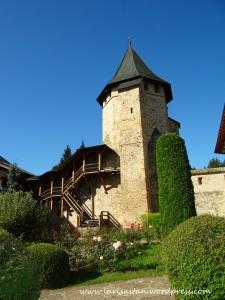 Manastire Putna curte