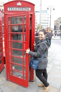 Cabina telefonica rosie Londra larisastan