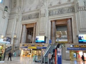 metrou tren milano centrale