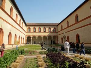 gradina Castello Sforzesco
