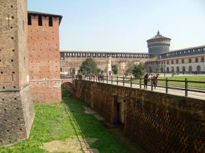milano Castel Sforzesco