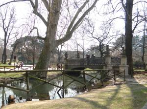 parcul Sempione milano lac