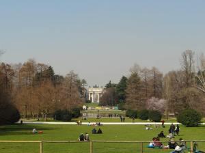 parcul Sempione milano
