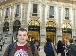 versace galerie milano