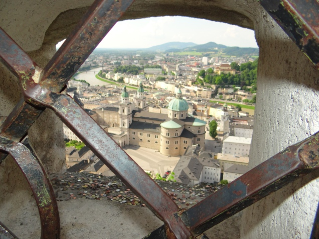 Fortareata Hohensalzburg austria