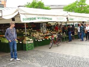 Viktualienmarkt in munchen